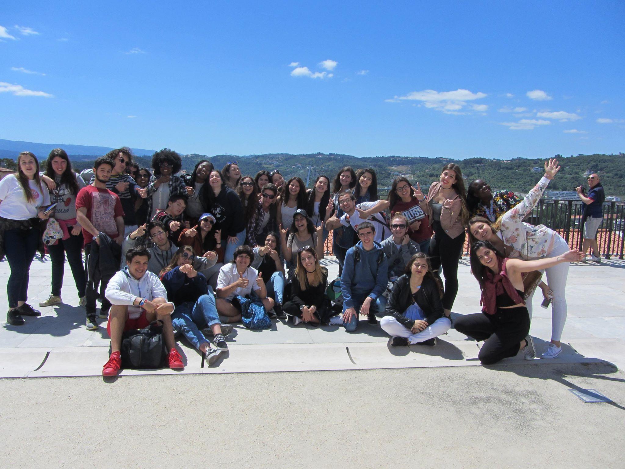 Visita de estudo a Conímbriga e Coimbra
