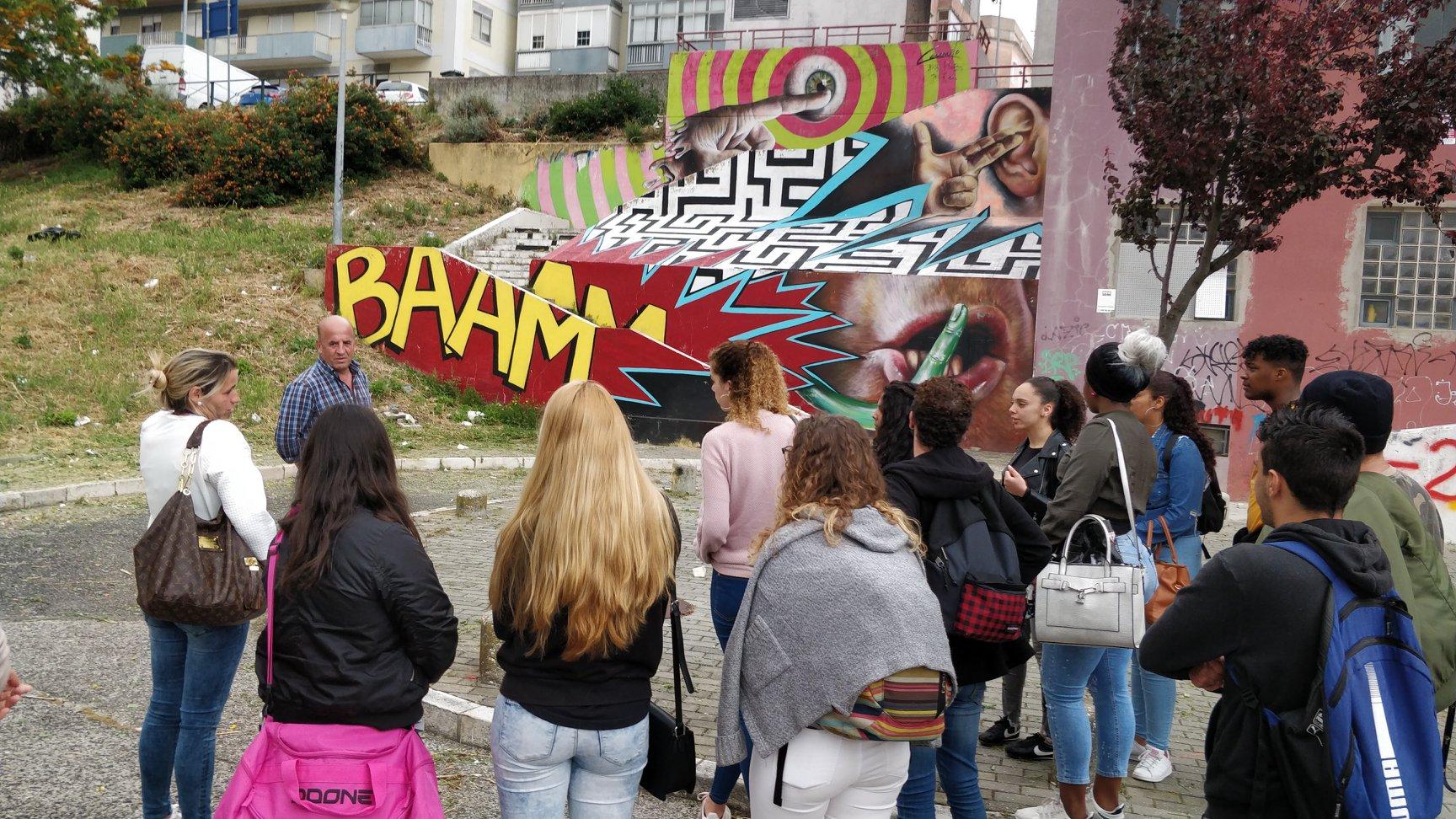 Circuito de arte urbana da Curraleira