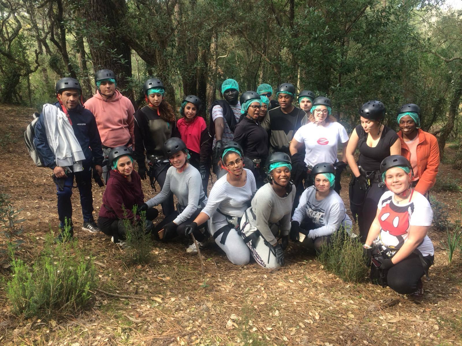 Atividades no Parque Natural do Cabeço de Montachique